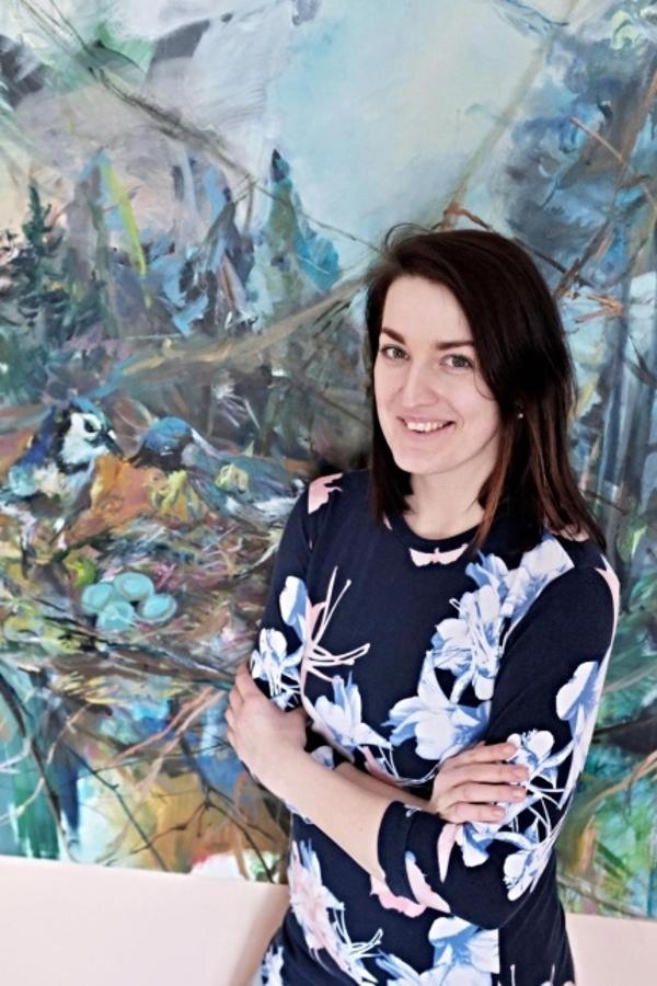 Veronika Čašová - učitelka výtvarného oboru na ZUŠ Ostrava - Mariánské Hory