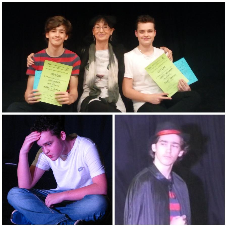 Úspěch žáků literárně-dramatického oboru na přehlídce Kandrdásek 2020
