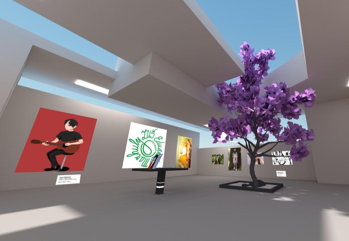 Vstupte do virtuální galerie absolventů výtvarného oboru