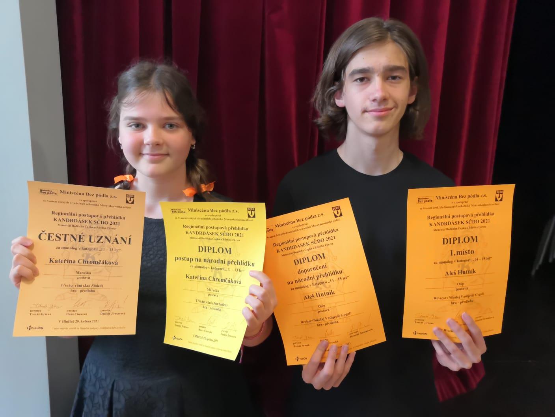 Úspěch LDO v soutěži Kandrdásek